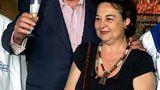 Bud Spencer mit Ehefrau