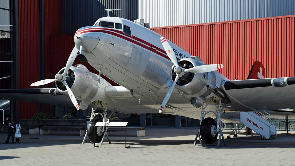 Douglas DC-3 der Swissair