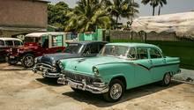 Auf den Straßen von Havanna