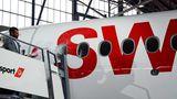Bligg tauft die erste CS100 der Swiss