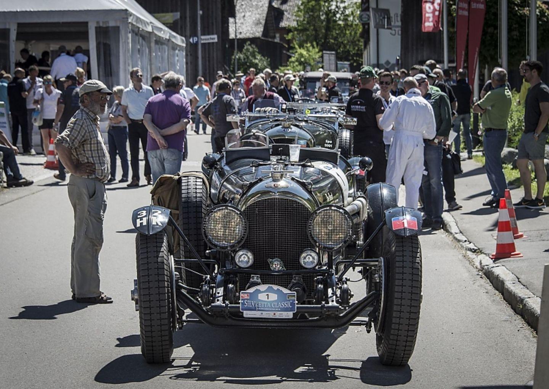 Der Bentley 3/8 stammt aus dem Jahr 1923