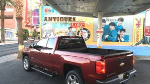 Chevrolet Silverado 5.3 V8 4WD - unterwegs in Las Vegas