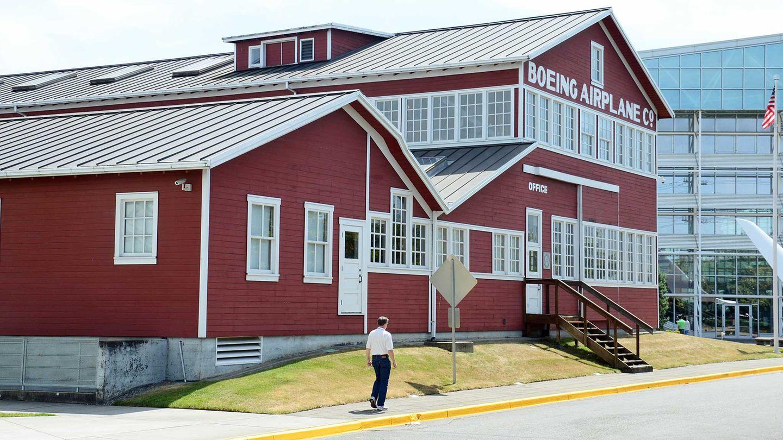 Red Barn des  Museum of Flight in Seattle