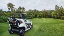 Mercedes Golf Cart by Garia - exklusiver kann man auf dem Golfkurs nicht unterwegs sein