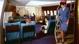 Vordere Kabine einer Boeing 747
