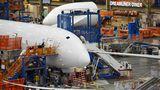 Produktion des Dreamliners in Everett