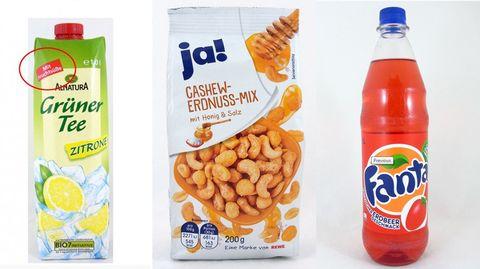 Mogelpackung der Industrie: Lebensmittel mit Tricks
