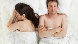 Frust im Bett