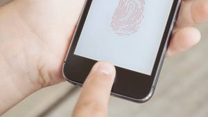 Fingerabdrucksensor smartphone