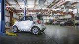 Prototypenerprobung Smart Fortwo / Forfour ed 2016