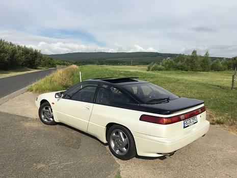 Subaru SVX - auch das Heck ist spektakulär