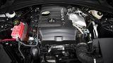 Der Vierzylinder-Zwei-Liter-Turbo gibt eine gute Figur ab