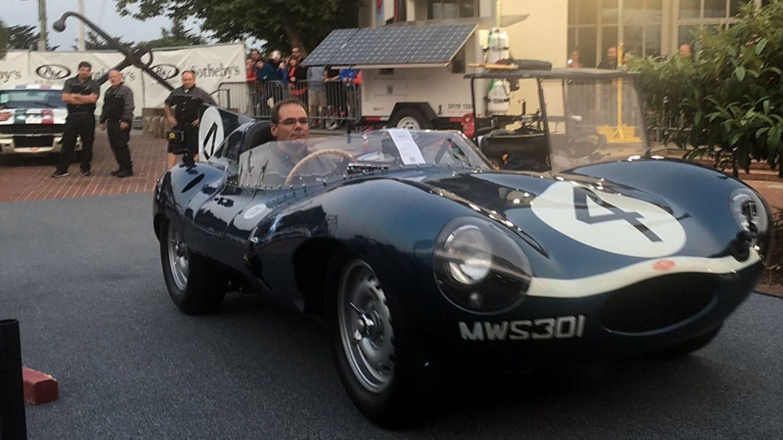 Jaguar D Type 1954 - brachte 19,8 Millionen Dollar bei RM Auctions