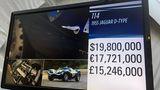 Ein Rekordpreis für den Jaguar D-Type 1955 Le Mans
