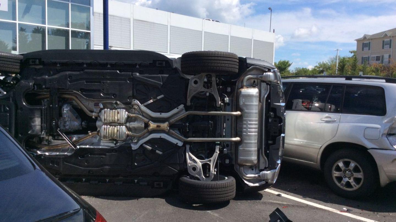 Das Dickschiff von Mercedes in stabiler Seitenlage