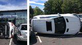 USA: Irre Probefahrt: Nach sechs Sekunden waren fünf Mercedes Schrott