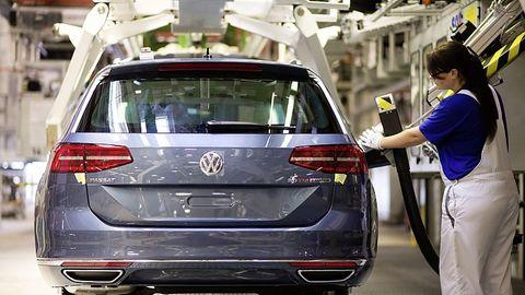 Vor allem die Fertigung des VW Golf ist betroffen
