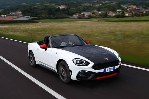 fiat abarth 124 spider giftige spinne. Black Bedroom Furniture Sets. Home Design Ideas