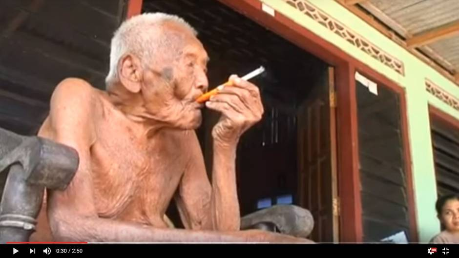 ältester Mensch Der Welt Ist 145 Und Sehnt Sich Nach Dem Tod