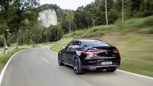 Mercedes AMG GLC 43 Coupé - das Heck erinnert an den größeren GLE