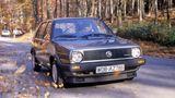 Der VW Golf syncro rollt auf 13 Zoll großen Rädern.