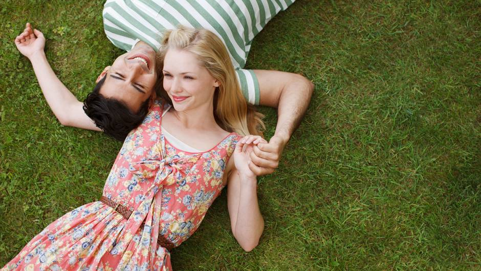 Mädchen befragt wie man ein romantisch