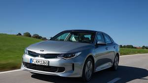 Kia Optima Plug In Hybrid - der Fronttriebler