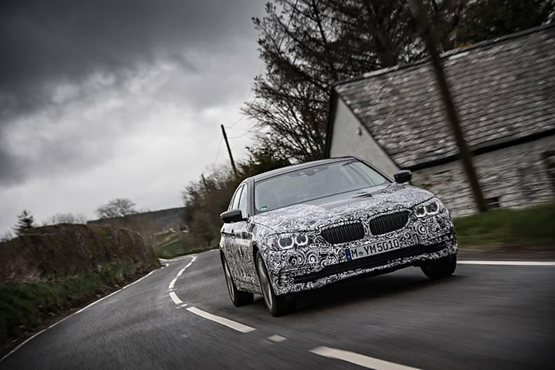 Prototypenerprobung BMW 5er / G30