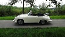 Dieses Porsche 356 B Cabriolet aus dem Jahr 1962 ist einer der ersten zwölf Dienst-Porsche der SAS.