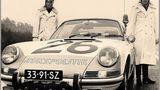 Die weißen Mäuse und ihr Porsche.