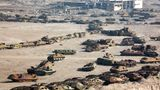 Panzerfriedhof bei Kabul, Afghanistan