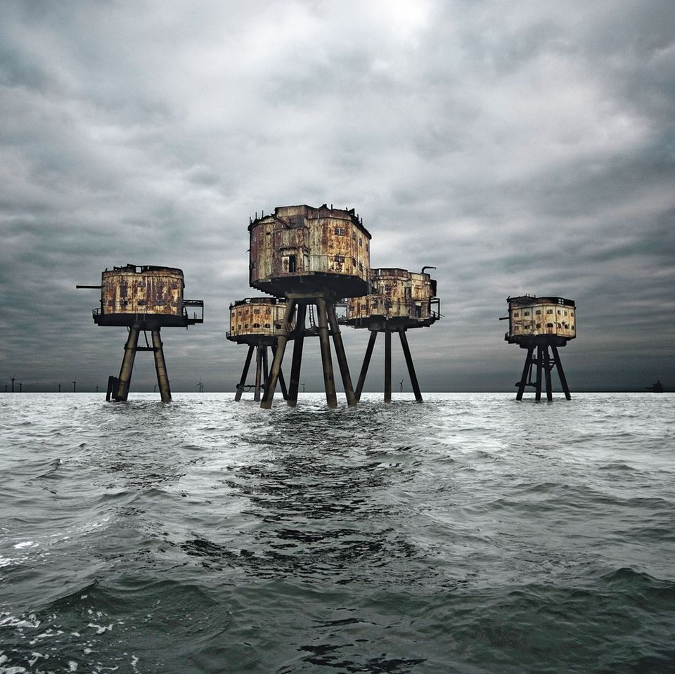 Maunsell Sea Forts in der Nordsee, Großbritannien