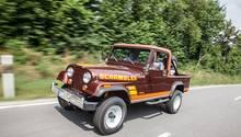 Jeep CJ-8 Scrambler - auf der Straße ein Spaßmobil