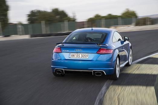 Audi TT RS - von hinten immer noch rundlich