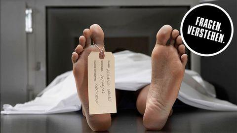 Was passiert mit uns, wenn wir sterben?