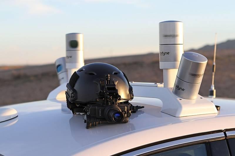 Die LIDAR-Radar-Sensoren ähneln den Stacheln des gleichnamigen Schweins
