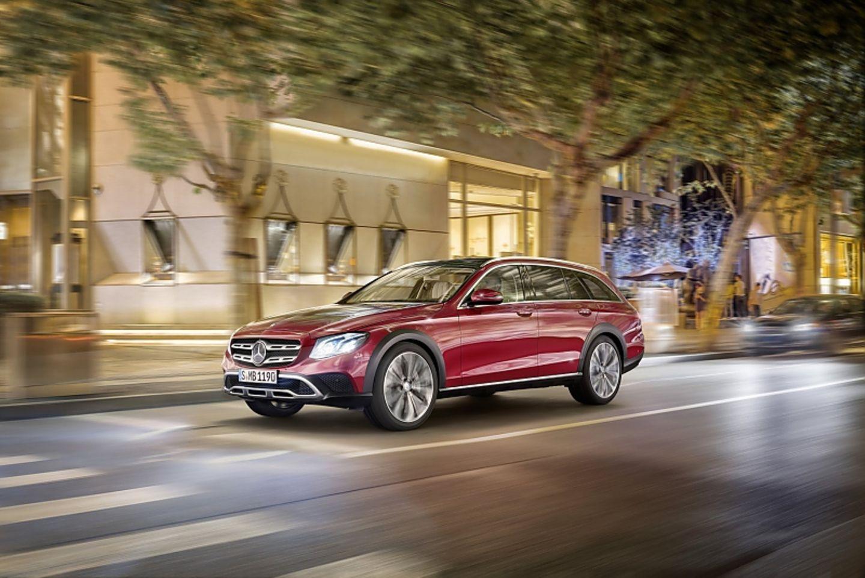 Mercedes E-Klasse All-Terrain 2017 - LED-Scheinwerfer sorgen für Durchblick