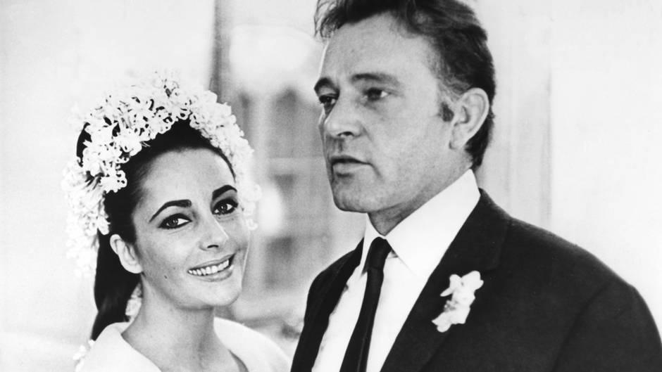 Liz Taylor und Richard Burton