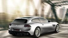 Ferrari GTC4 Lusso T - optisch leicht verändert im Vergleich zum FF