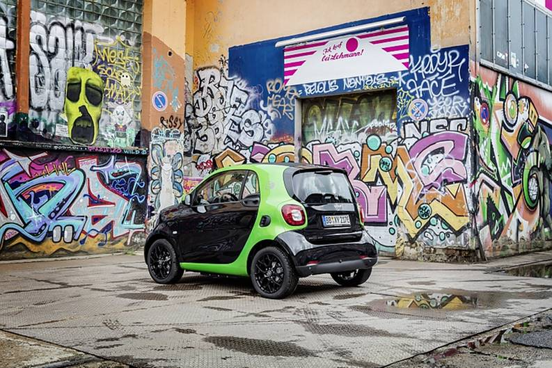 Smart Fortwo Electric Drive - elektrischen Platz für zwei