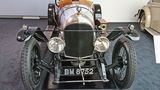 Heute steht er im Bentley-Werk in Crewe.