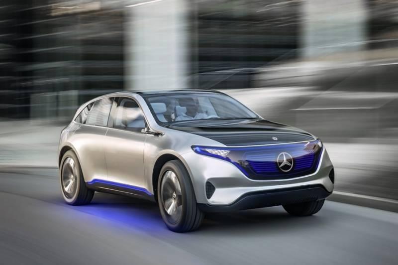 Mercedes Generation EQ - in gut zwei Jahren dürfte das Serienmodell folgen