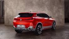 BMW Concept X2 - auch das Heck zeigt sich überaus kraftvoll