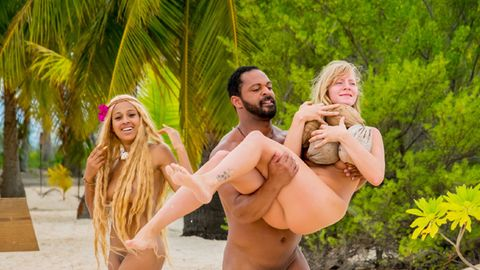 """""""Adam sucht Eva"""" führte die Teilnehmer auf eine Insel in der Südsee"""