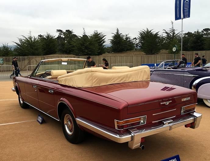 Rolls Royce Phantom VI Four-Door Cabriolet von 1971