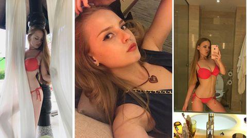 Oksana Neveselaya ist nicht schüchtern auf ihrem Instagram-Account