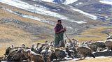 Himmelsbestattung in Tibet