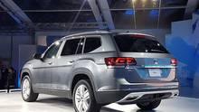 Weltpremiere VW Atlas in Santa Monica - nach Europa kommt der 5,04 Meter lange SUV nicht