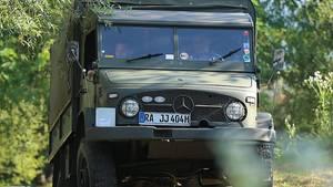 Unimog S Baureihe 404 - im Gelände nicht zu stoppen