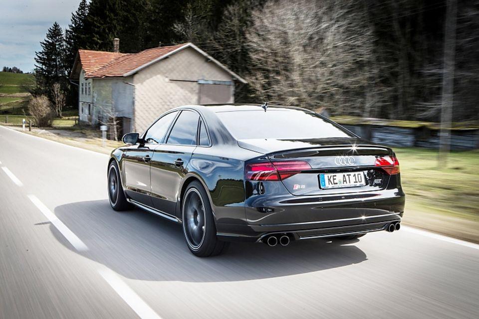 Abt Audi S8 Plus - 0 auf Tempo 100 in 3,3 Sekunden